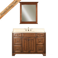 Freestanding Solid Wood Bathroom Cabinet